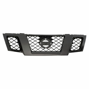 OEM NEW 2018-2019 Nissan Frontier Midnight Edition Grille Assembly 62310-9BP1A