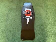 Vintage Hosoi Original 80s Hammerhead Black Silver Red Skateboard Deck Nos