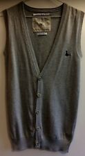 Jack Wills Gris Tricot gilet de style taille xs