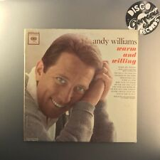ANDY WILLIAMS - Warm and Willing - USA MONO PRESS 1962 (CL1879) EX/EX