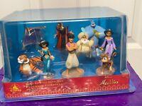 Disney Store Aladdin Deluxe 9 PVC Figure Figurine Play Set Cake Topper Jasmine