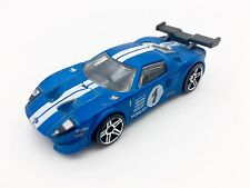 Hot Wheels  Ford GT LM  Satin Blue  Racing / 2009