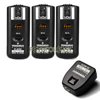Yongnuo RF602 Wireless Remote Flash Trigger for Nikon D70s D80 with 3 Receivers