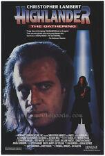 HIGHLANDER: THE GATHERING Movie POSTER 27x40 Christopher Lambert Vanity Adrian