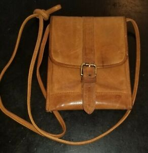 Vintage Ellington Leather Crossbody Mini Bag