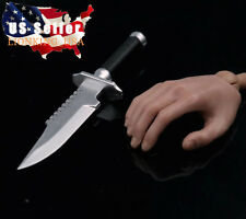 "1/6 Military Knife For 12"" Figure Soldier Walking Dead Weapon DRAGON BBI ❶USA❶"