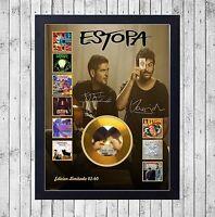 ESTOPA DISCOGRAFIA CUADRO CON GOLD O PLATINUM CD EDICION LIMITADA. FRAMED