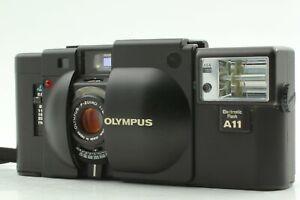 [EXC+++++] Olympus XA Rangefinder 35mm Film Camera with bonus A11 From Japan #22