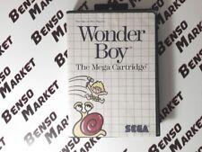 WONDER BOY 1 - SEGA MASTER SYSTEM 8 BIT - PAL EU ITA ITALIANO - BOXATO BOXED