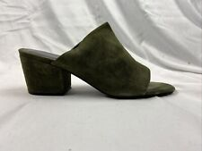 Sol-Sana Marcy Mule Olive Suede Size 40