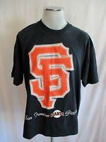 Vintage 1996 SAN FRANCISCO GIANTS T-SHIRT Mens EXTRA LARGE XL Huge Logo SF
