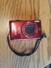 Canon PowerShot ELPH 510 HS / IXUS 1100 HS 12.1MP Digital Camera - Red