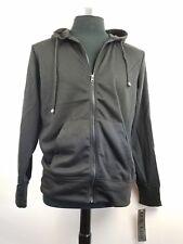 Black Hooded Full Zip Sweatshirt new with tags U.S. Life