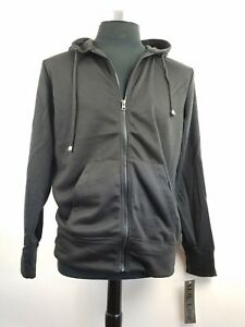 Full Zip Hooded Sweatshirt new with tags U.S. Life black