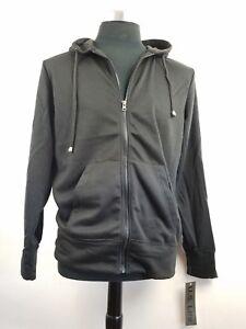 Full Zip Hooded Sweatshirt new with tags U.S. Life black