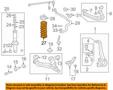 TOYOTA OEM 01-02 4Runner Front Suspension-Spring Right 4813135430