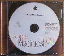 Apple Mac OS System 8.0 Install CD Power Macintosh G3 B691-1919-A English vintge