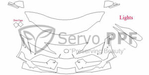 Precut 3M PRO Series Clear Bra Kit for 20+ Toyota Supra GR