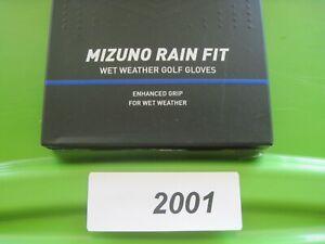 Mizuno  RAIN FIT   MEDIUM  Golf Glove Pair Enhanced Grip Wet Weather  #2001