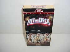 Hit the Deck VHS Video Tape Movie
