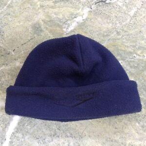 Speedo Navy Blue Fleece Winter Hat Cap Beanie