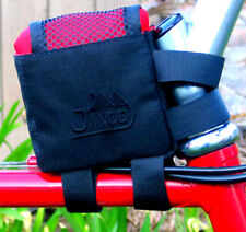 Jandd Ultralight Small Bike Stem/Top Tube Bag -BLACK logo- Triathlon Cycling NEW