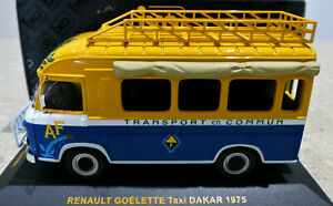 1/43 IXO Renault Goelette Taxi Dakar 1975. Mint, IXO packaging very rare. CLC081