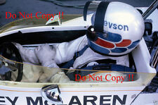 Peter Revson McLaren M19A South African Grand Prix 1972 Photograph 2