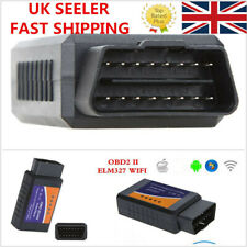 UK ELM327 OBD II OBD 2 WiFi Auto Wireless Car Diagnostic Interface Scanner Tool