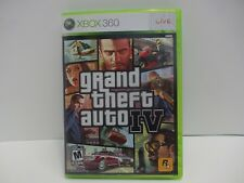 Grand Theft Auto IV Microsoft Xbox 360 Live Game 2008 Complete