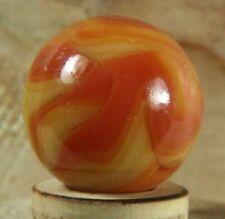Lot of 42 42 Alley Agate Orange Swirl Marbles Near Mint - 42 Players #17