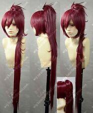 Puella Magi Madoka Magica Kyoko Sakura Red Cosplay Wig   &:71