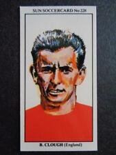 The Sun Soccercards 1978-79 - Brian Clough - England #228
