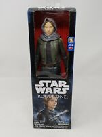 "Sergeant Jyn Erso Jedha 12"" Action Figure Star Wars Rogue One Disney Hasbro NEW"