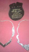 Collar alpaca plata esmalte JOLLERIA TOUT ANKN AMOUN VARIOS IDIOMAS EGIPTO etc..