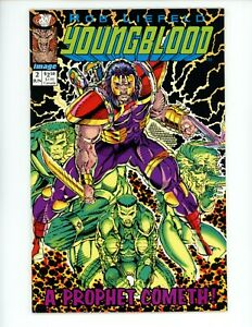 Youngblood #2 1992 NM 1st app of Prophet Image Green Blue 1st Print Comic