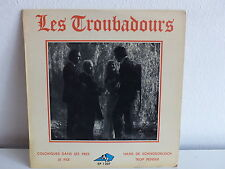 LES TROUBADOURS Colchiques dans les prés AZ EP 1207