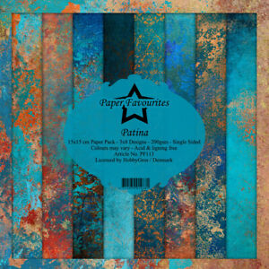 "Patina Paper Favourites Paper Pack 6"" x 6"""