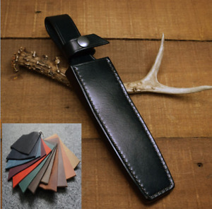 fit for 3.5x16cm Blade knife bag scabbard sheath case cow leather customize A988