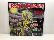Iron Maiden Killers Vinyl LP 1981 EMI 1A 062-07450 Label