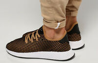 Adidas Originaux Deerupt Hommes en Carton Noir Noir Baskets UK 10 B41763