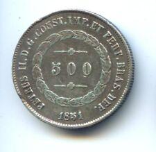 BRESIL PEDRO II (1831-1889) 500 REIS 1851 KM 458