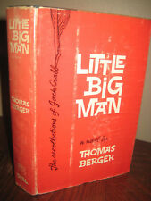 1st Edition LITTLE BIG MAN Thomas Berger NOVEL 2nd Printing FICTION Western FILM