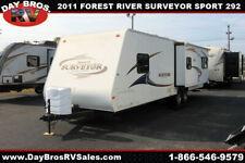 11 Forest River Surveyor Sport Sp292 Travel Trailer Towable Rv Camper Sleeps 6