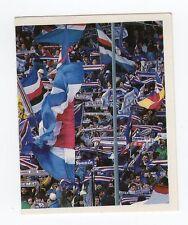 figurina CAMPIONI E CAMPIONATO 90/91 1990/91 numero 324 SAMPDORIA TIFOSI