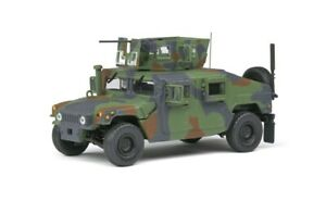 Solido S4800101 - 1/48 M1115 Humvee - Green Camo 1983 - Diecast Model