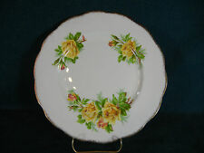 "Royal Albert Tea Rose Round 9 1/4"" Luncheon Plate"