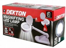 60 LED illuminato con luce Lente di ingrandimento LAMPADA DA TAVOLO LENTE INGRANDIMENTO TAVOLO LUCE
