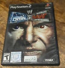 PS2 Smackdown Vs Raw - Playstation 2 Game 2004