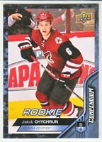 2016-17 Upper Deck Compendium Series 3 BLUE ROOKIE RC Jakob Chychrun  #896